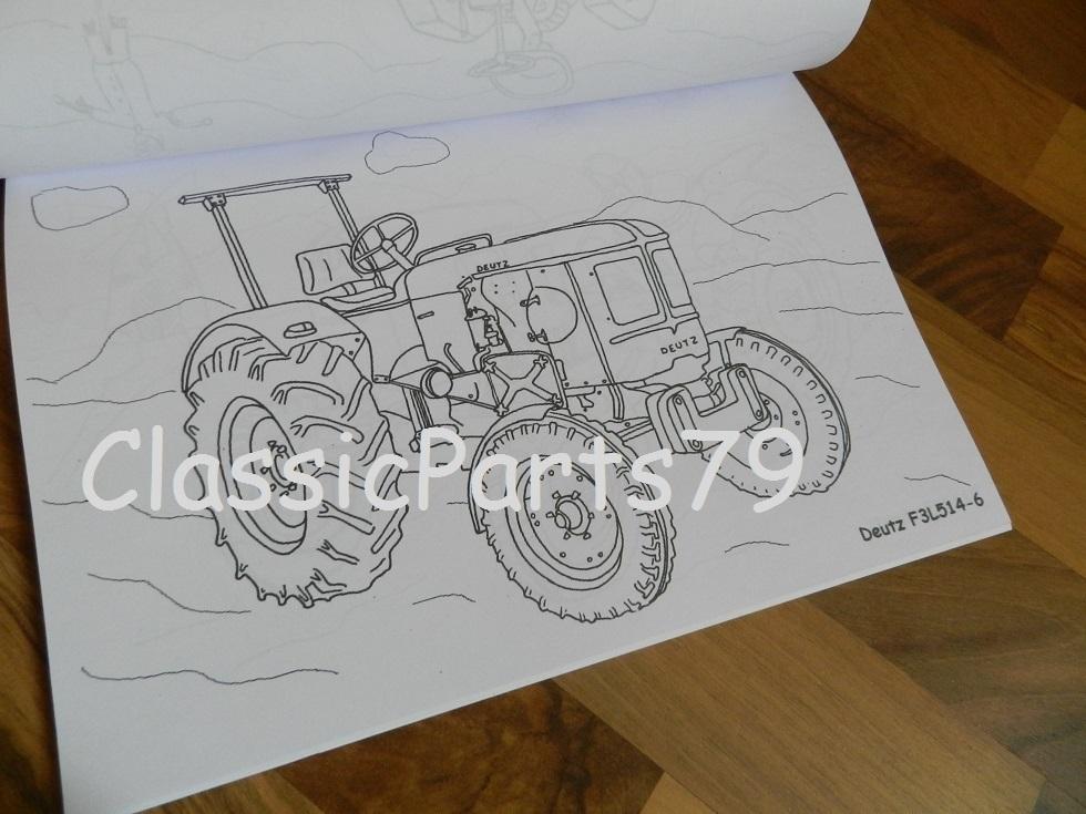 schleppertraktorenmalbuch  classic parts 79